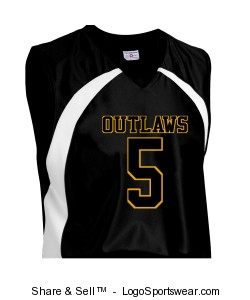 Adult Tip Off Basketball Jersey Design Zoom